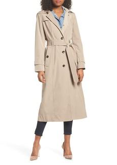 London Fog Long Single Breasted Raincoat