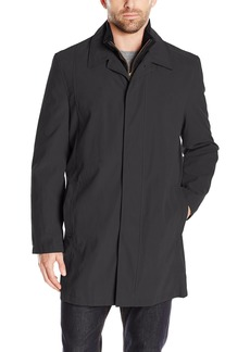 London Fog Men's All Weather Coat with Removable Bib Liner   Regular