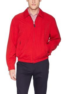 London Fog Men's Auburn Zip-Front Golf Jacket (Regular & Big-Tall Sizes) true red