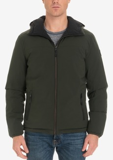 London Fog Men's Beekman Reversible Stretch Bomber Jacket, Created for Macy's