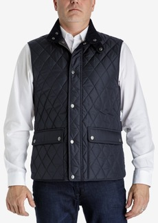 London Fog Men's Big & Tall Diamond Quilted Vest