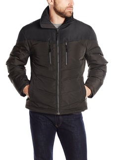 London Fog Men's Blakely Down Filled Hipster Jacket