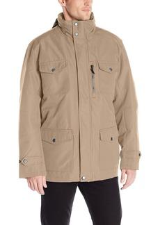 London Fog Men's Brogan 3 In 1 Field Coat with Hidden Hood