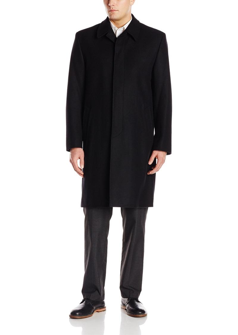 London Fog Men's Coventry Wool Top Coat   Regular