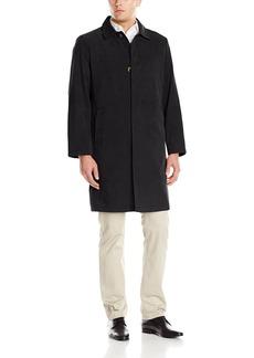 London Fog Men's Salem 40 inch Twill Fly Front Rain Coat   Regular