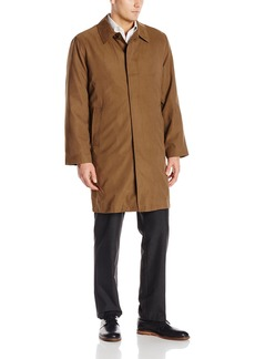 London Fog Men's Durham Rain Coat with Zip-Out Body  42 Regular