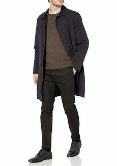 London Fog Men's Durham Rain Coat with Zip-Out Body  44 Long