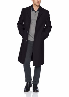 London Fog Men's Signature Wool Blend Top Coat  42L