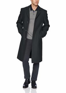 LONDON FOG Men's Signature Wool Blend Top Coat  40L