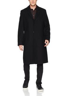 LONDON FOG Men's Signature Wool Blend Top Coat  R