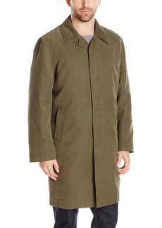 London Fog Men's Durham Rain Coat with Zip-Out Body