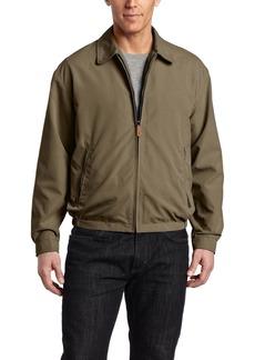 London Fog Men's Zip Front Light Mesh Lined Golf Jacket
