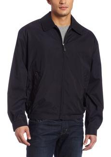 London Fog Men's Zip Front Light Mesh Lined Golf Jacket  large
