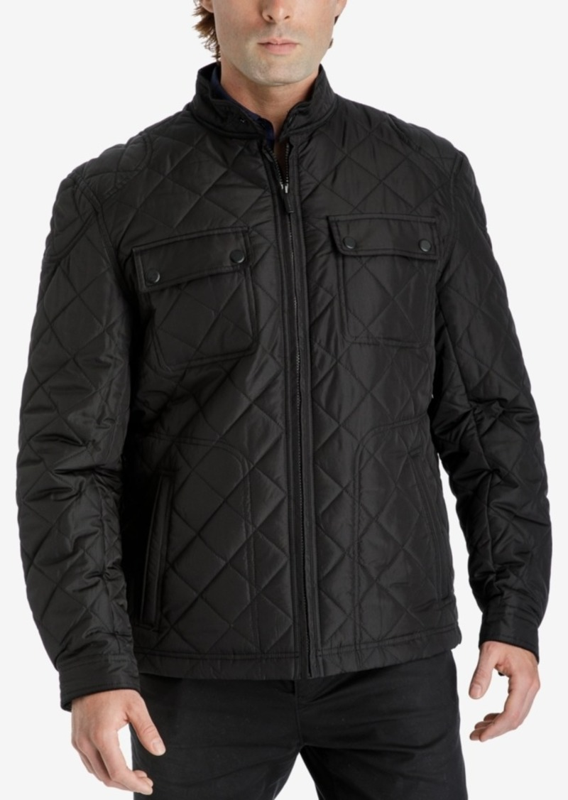 874e837b5d2 London Fog London Fog Men s Zip-Front Quilted Jacket