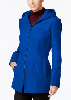 London Fog Petite Hooded Walker Coat