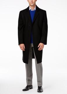 London Fog Signature Wool-Blend Overcoat