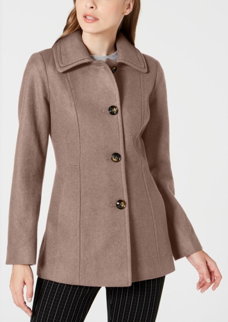 London Fog Single-Breasted Coat