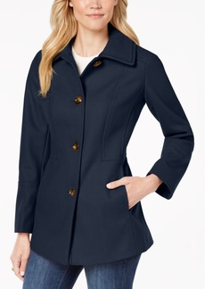 London Fog Single-Breasted Peacoat