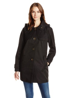 London Fog Women's Button Front Topper  S