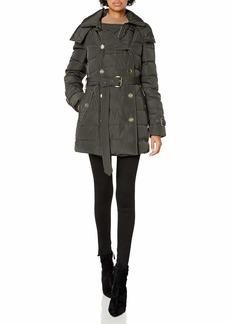 LONDON FOG Women's Lf Heritage Beltedd/B Down Coat  XL