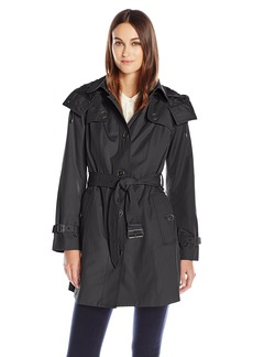 London Fog Women's Heritagetrench Coat with Belt  S