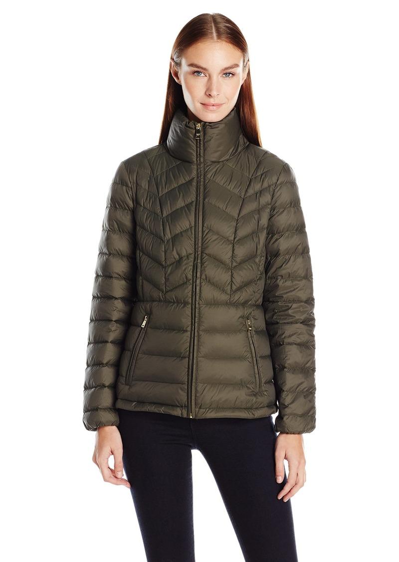 London Fog Women's Packable Down Coat  L