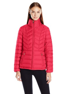 London Fog Women's Packable Down Coat  S