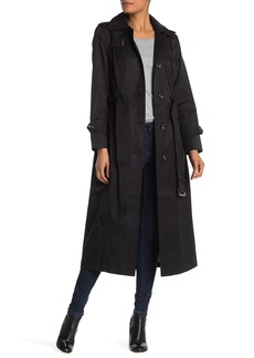 London Fog Missy Long Trench Coat