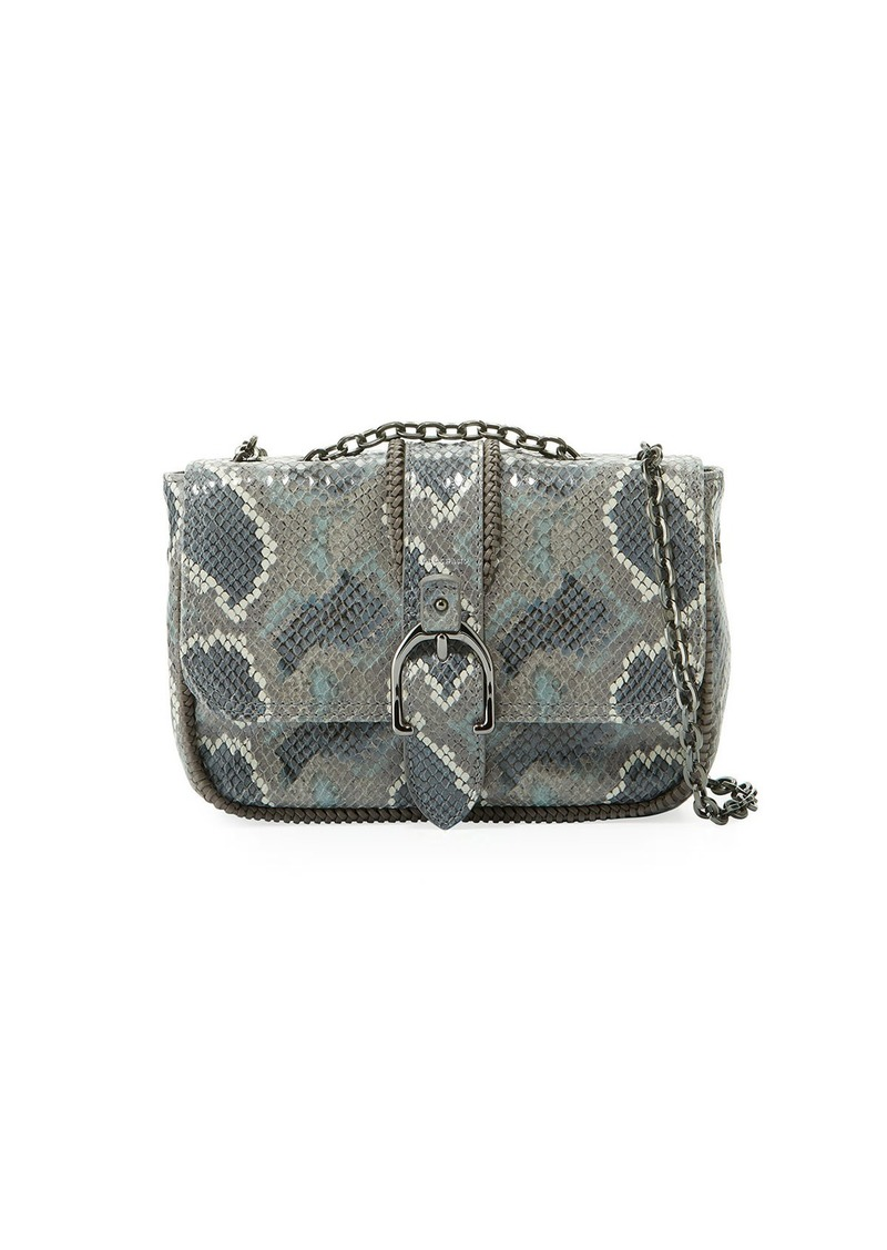b6443acaadd2 Longchamp Amazon Python Mini Crossbody Bag