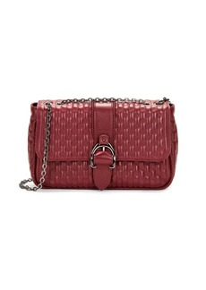 Longchamp Amazone Leather Quilted Crossbody Bag