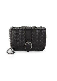 Longchamp Amazone Leather Quilted Crossbody Bag