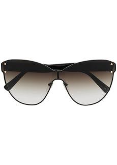Longchamp cat-eye mono-frame sunglasses