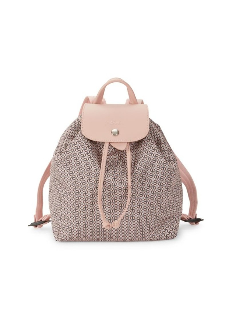 Longchamp Dandy Leather Backpack