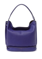 Longchamp Leather Hobo Bag