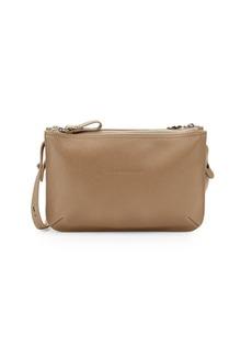 Longchamp Le Foulonne Leather Crossbody Bag 7d7dfca5b2d5a