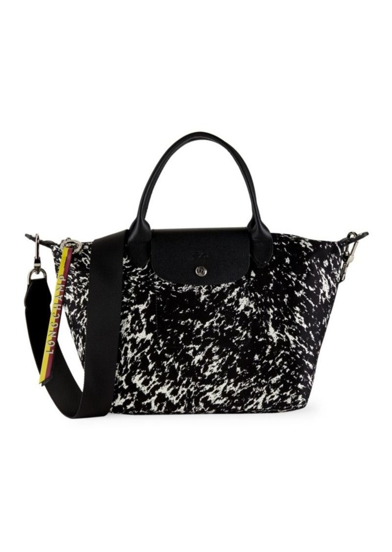 Longchamp Le Pliage Appaloosa Top Handle Textile Bag