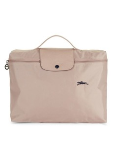Longchamp Le Pliage Club Leather-Trim Document Holder