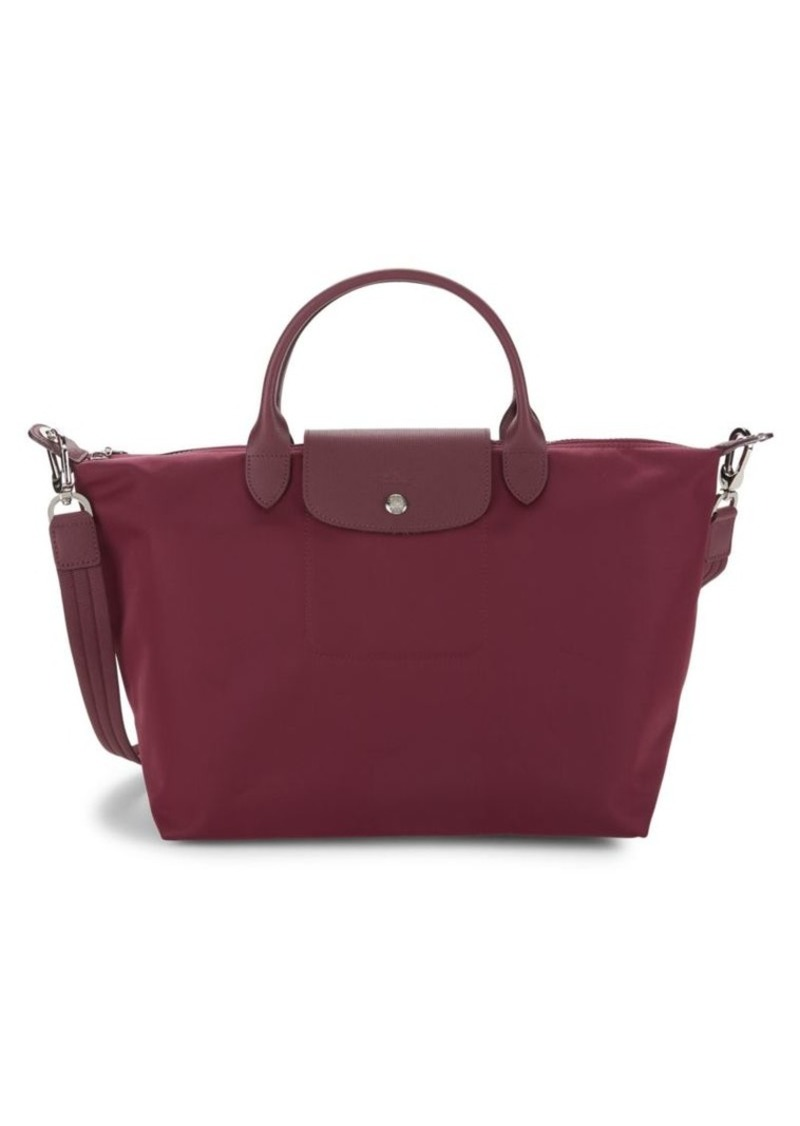Longchamp Le Pliage Faux Leather Top Handle Bag
