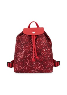 Longchamp Le Pliage Fleurs Backpack