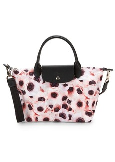 Longchamp Le Pliage Floral Top Handle Bag