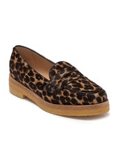 Longchamp Le Pliage Heritage Genuine Calf Hair Penny Loafer