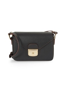 Longchamp Le Pliage Heritage Leather Crossbody Bag