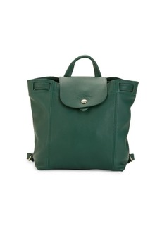 Longchamp Le Pliage Leather Backpack