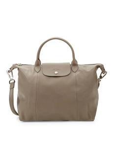 Longchamp Le Pliage Leather Tote