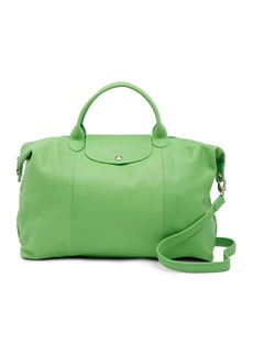 Longchamp Le Pliage Leather Tote Bag