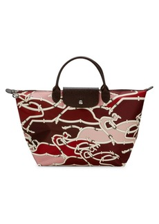 Longchamp Le Pliage Neo Printed Nylon Top Handle Bag