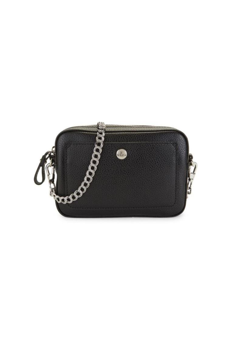 Longchamp Leather Convertible Crossbody & Belt Bag