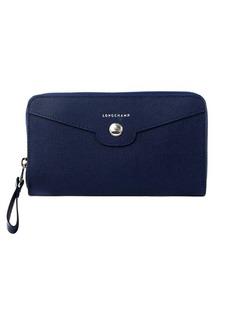 Longchamp Leather Long Wristlet Wallet
