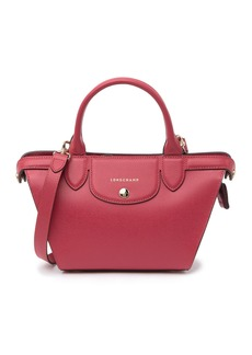 Longchamp Le Pliage Heart Mini Leather Satchel