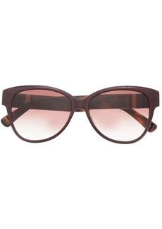 Longchamp LO635 oval-frame sunglasses